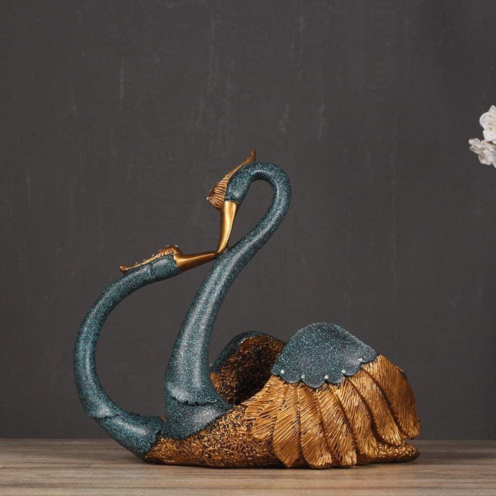 Sculptures Home Decor Swan Wine L European Decoration Max 40% OFF Style Cash special price Rack