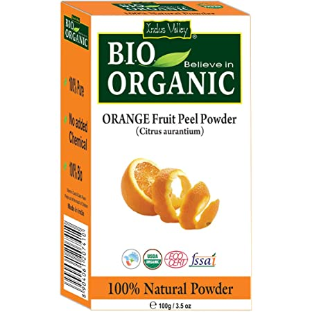 Indus Valley Organic Orange Peel Powder 100 Gm