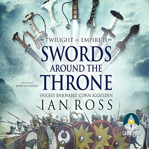 Swords Around the Throne audiobook cover art