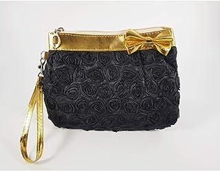 حقيبة مستحضرات التجميل جوي بلاك روز رول لتنظيم أدوات التجميل أثناء السفر، محفظة إكسسوارات