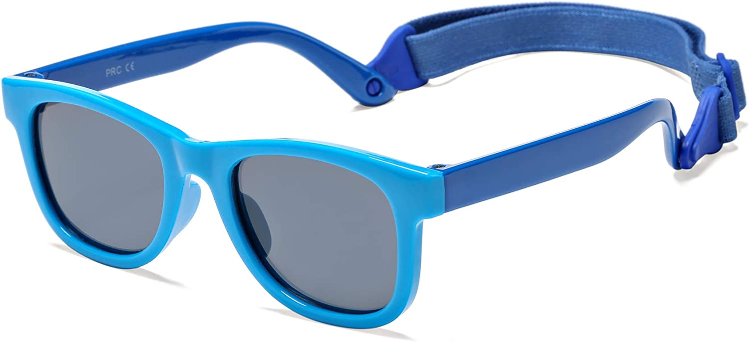 5% OFF Polarized Sunglasses for Baby Attention brand with UV Shad Strap Protection 100%