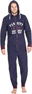 Mens Micro Fleece Soft Fleece Hooded with Chest Print Onezee Boys Jumpsuit Polyester Rich Sports Style Printed Zipup 1Ones...