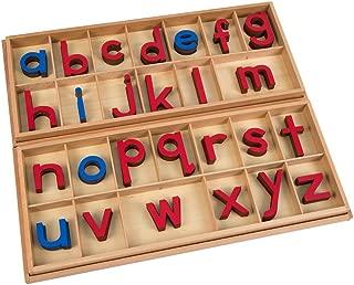 Montessori Large Movable Alphabet (Red & Blue)