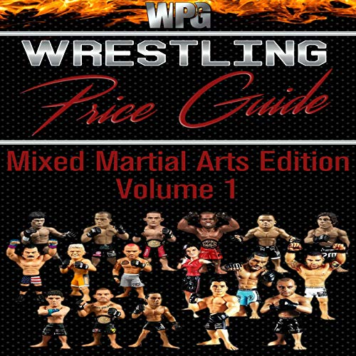 『Wrestling Price Guide Mixed Martial Arts Edition Volume 1』のカバーアート