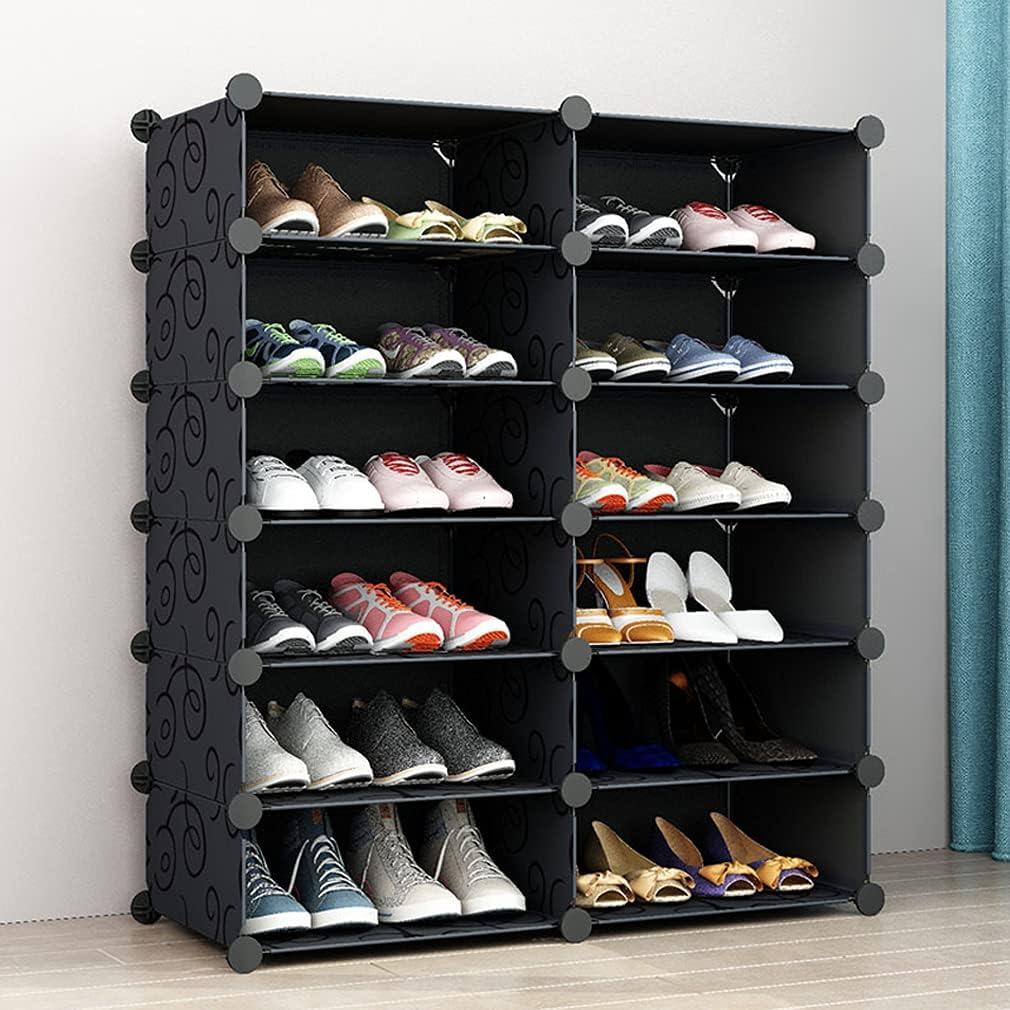 SIMPDIY Portable Online limited product Shoe Rack Box Sy Storage Denver Mall Organizer