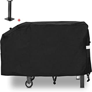 Hisencn 28 inch Griddle Cover for Blackstone 2 Burner Grill Griddle Cooking Station, Outdoor 600D Heavy Duty Waterproof Ca...