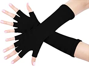 Nice Shades Ladies 16 Inch Fingerless Gloves (Many Colors Available)
