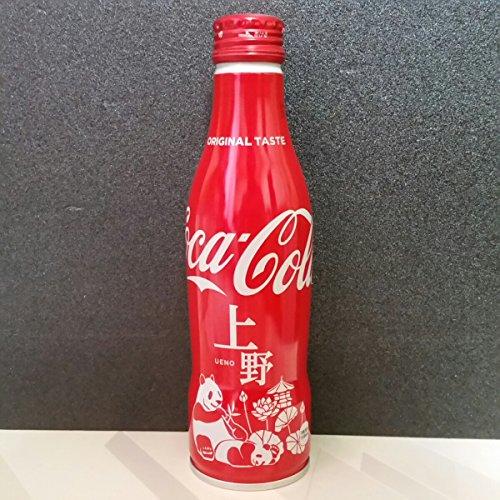 上野限定 パンダ コカ・コーラ スリムボトル 250ml アルミ缶 シャンシャン 1本