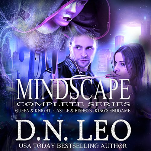 Mindscape Trilogy Compete Series: Queen & Knight, Castle & Bishops, King's Endgame plus Virgo audiobook cover art