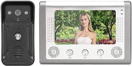 Loud Sound Video Door Phone, Intercom, Energy Saving TFT ID Card Doorbell, for Apartment Home Security(Australian regulati...