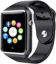 Duston 4G Realmi 5 pro Bluetooth Smart Watch Mi Compatible with All 3G, 4G Phone with Camera and 3G Sim Card Support (Black)