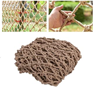 Children s Outdoor Railing Safety Net Staircase Anti-fall Net Decoration Net Protective Net Hemp Rope Child Safety Net Retro Bar Ceiling Net Hanging Clothes Net Climbing Net Rope  Size 2x2m
