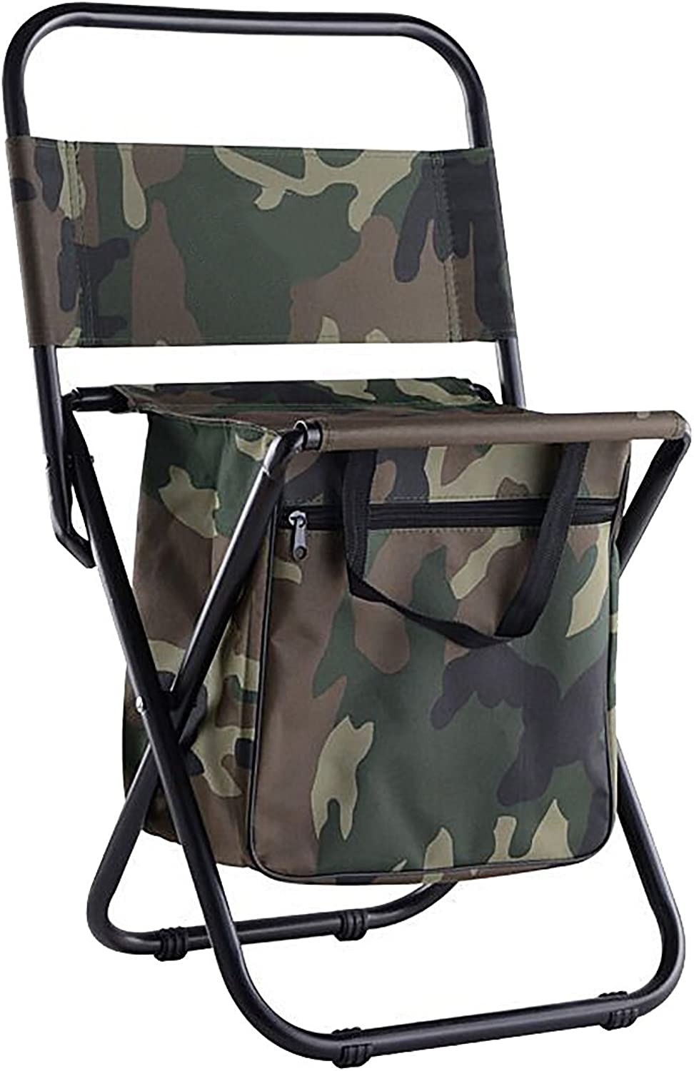 Folding Camping Chair with Storage Pocket for Hiking, Camping, Fishing, Beach, Outdoor