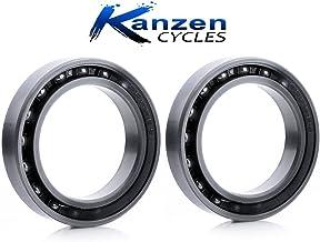 ROULEMENT A BILLES KANZEN CYCLES 17x26x5 6803 TUNGSTENE CERAMIQUE CERAMIC 1pc