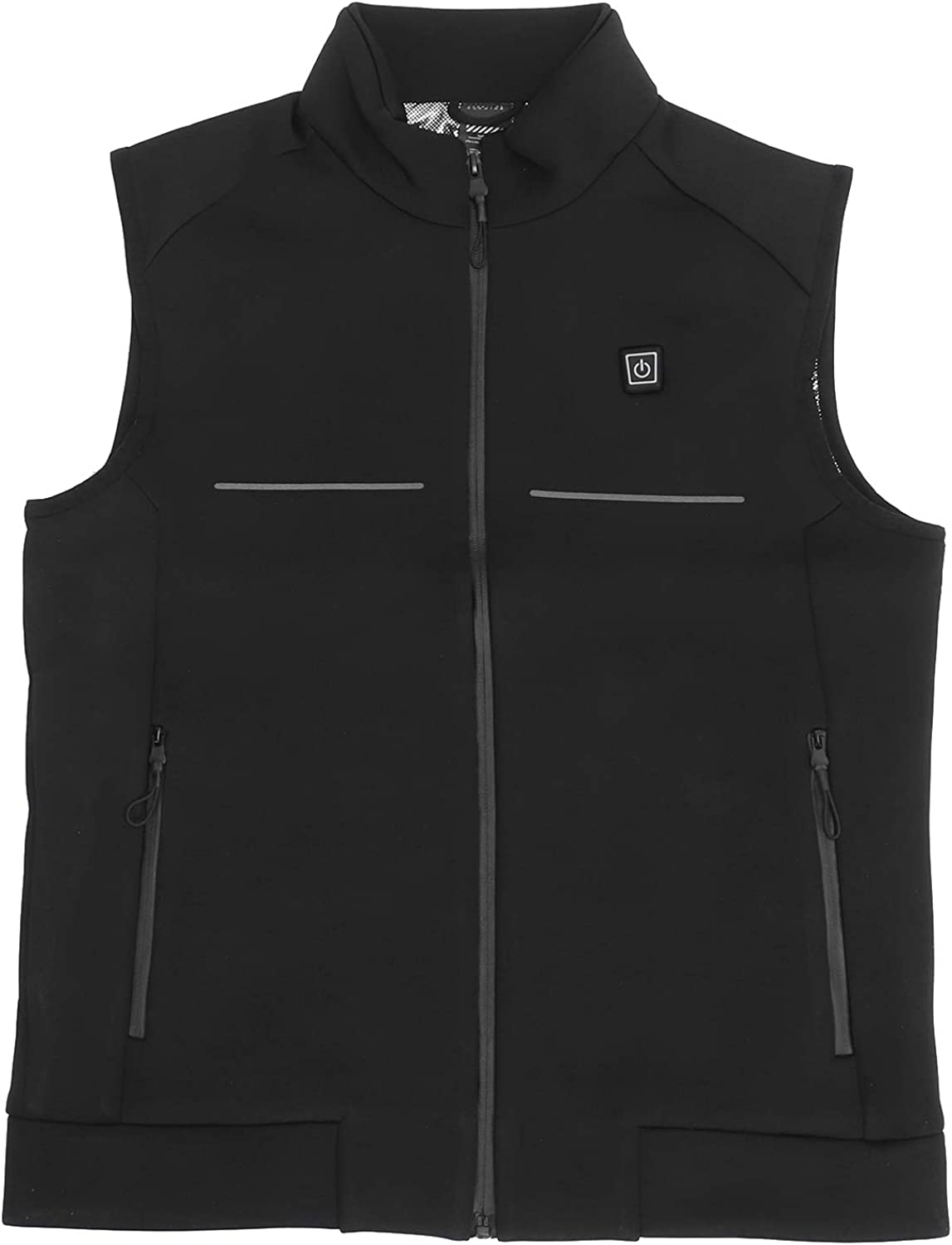 Lightweight Heated Vest,Riding Heated Vest USB Rechargeable 3 Level Temperature Electric Warming Cloth Unisex for Men Women