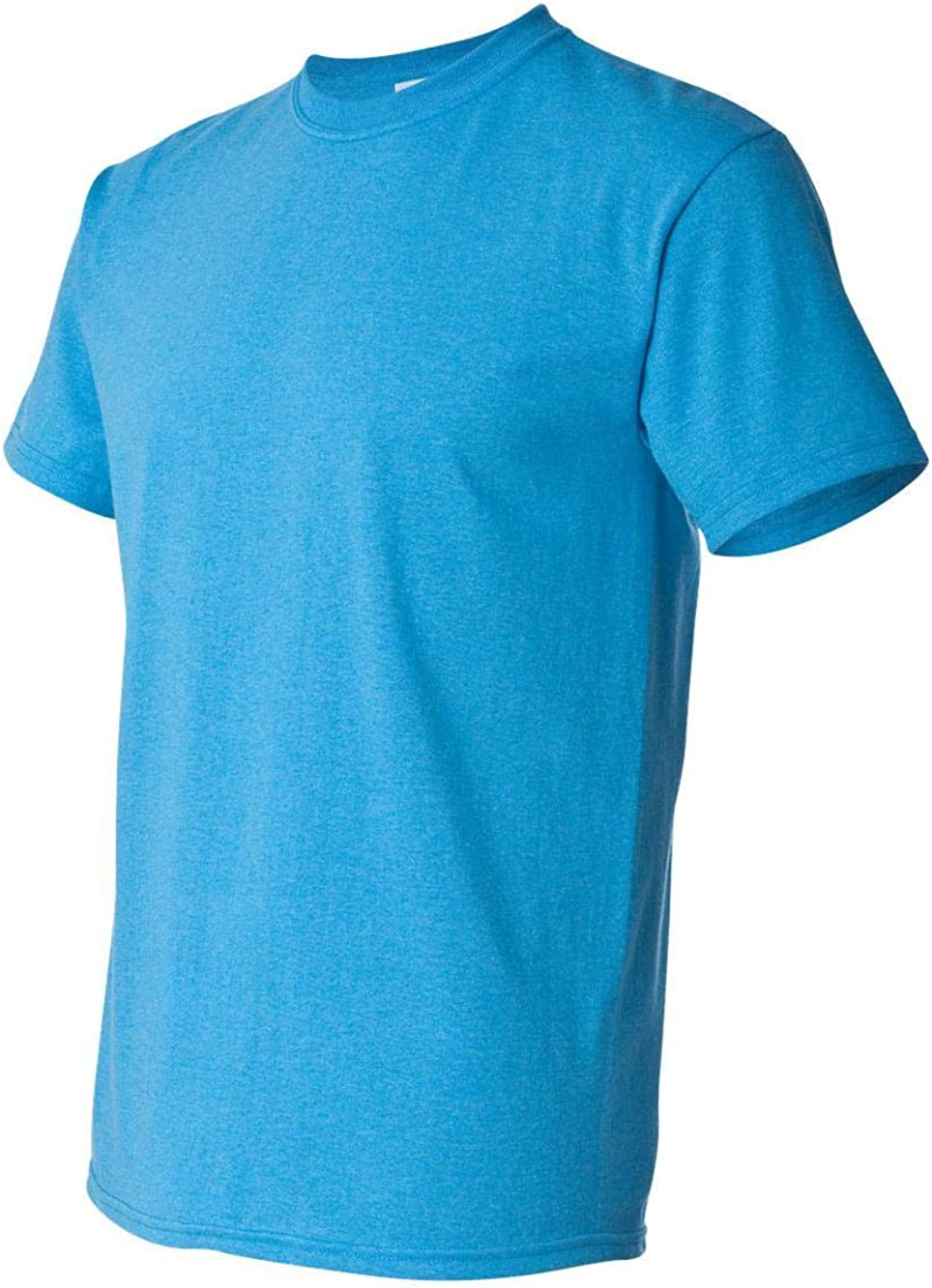 Gildan 5000 Adult Heavy Cotton T-Shirt, Heather Sapphire, XXX-Large