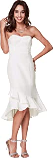 Best strapless white party dress Reviews