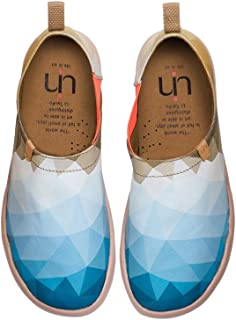 UIN Zapato para Hombre The Truth Diseño Original Pintado Slip-on Canvas Multicolor