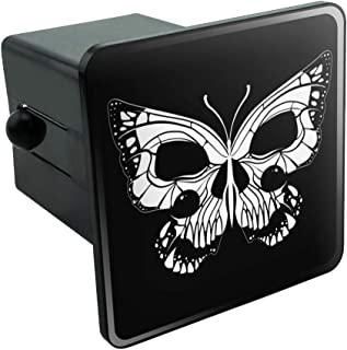 Graphics and More Butterfly Skull Insect Tow Trailer Hitch Cover Plug Insert 2