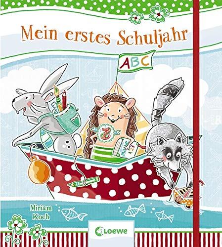Mein erstes Schuljahr: Erinnerungsbuch für Kinder ab 6 Jahre (Eintragbücher)