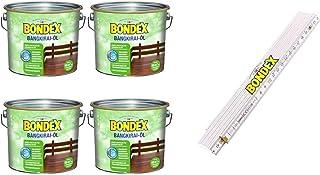 Bondex BigPack XL 4x Bangkirai Öl Bangkirai 4,00l 329611  1 x Bondex Zollstock
