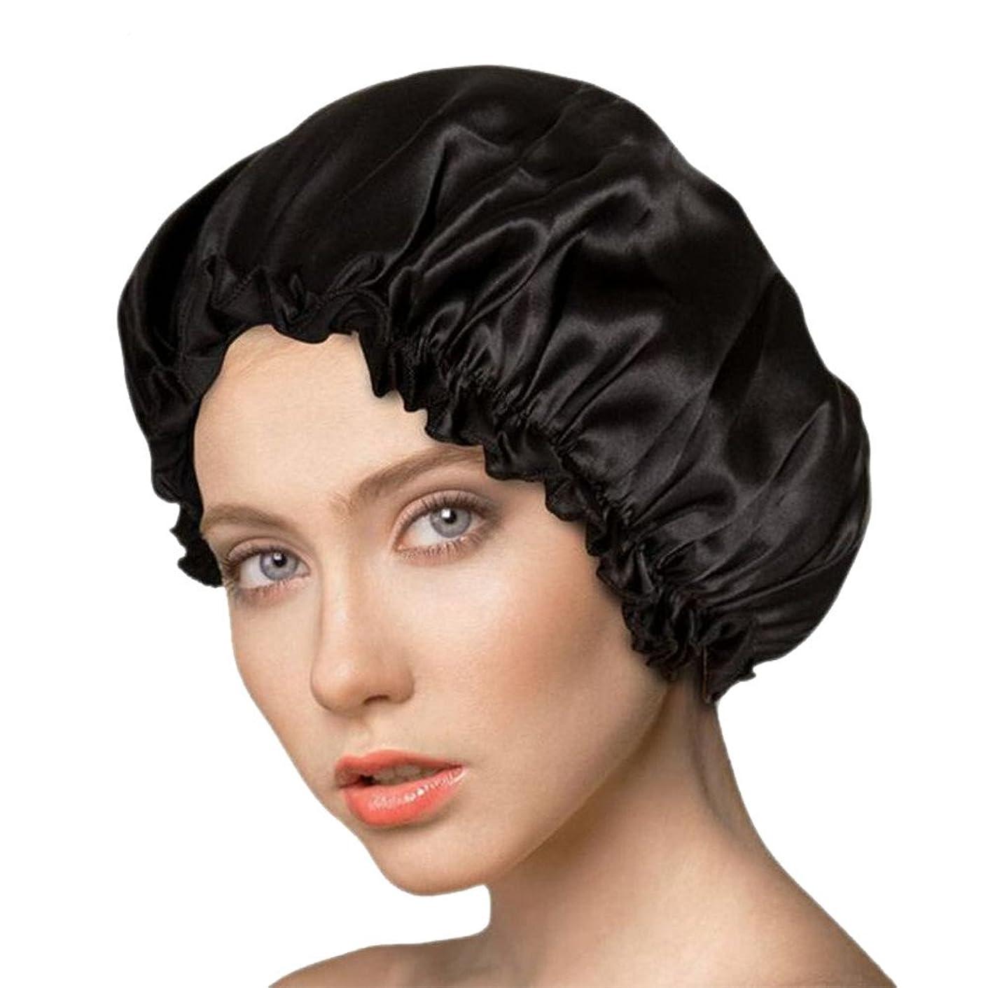 挨拶する投獄掘るアンミダ(ANMIDA)シルク100%ナイトキャップ 天然シルク ナイトキャップ ヘアーキャップ メンズ レディース 美髪 就寝用帽子 室内帽子 通気性抜群