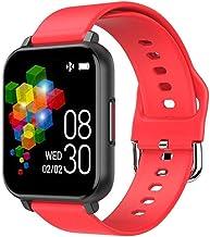 Smart Watch 1 3 inch dun en licht scherm stap-tellen informatie oproepenherinnering lange levensduur gamingarmband voor An...