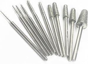 4mm 10pcs Set Diamond Dremel Rotary Wire Hollow Core Drills Bits
