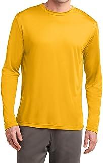Dri-Wick Men's Big & Tall Sport Performance Moisture Wicking Athletic Long Sleeve Shirt