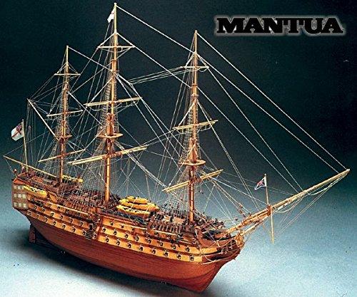 Mantua Model H.M.S. Victory 1:98 Kit Galeone in Legno in Kit 1100 mm 776 Made in Italy