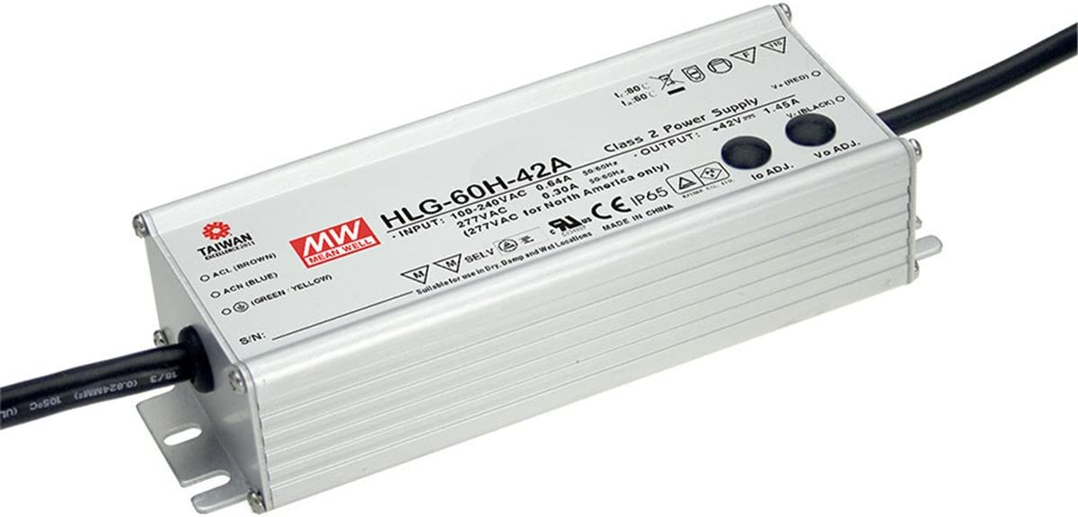MW Max 60% OFF Mean Well HLG-60H-48A 48V Sale 1.3A Switchin Single LED 60W Output