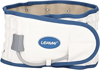 Cinturón de Descompresión Lumbar Physio Ajustable, Postura de la Correa de Cintura Inflable Dispositivo de tracción de Disco para Corrector de Soporte Lumbar para Hombres y Mujeres