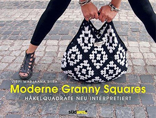 Moderne Granny Squares: Häkelquadrate neu interpretiert