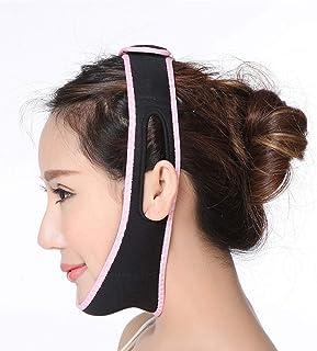 GYZ フェイスリフティングアーティファクト3D薄型フェイス付き薄型シンフェイスマスク小型Vフェイス包帯二重あごフェイスリフティングデバイスリフティングファーミング - ブラック Thin Face Belt