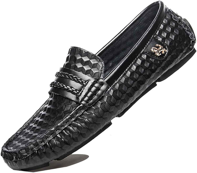 MYXUAA Mens Loafers Comfy Fashion klassischen Stil fahren Schuhe Papa Schuhe