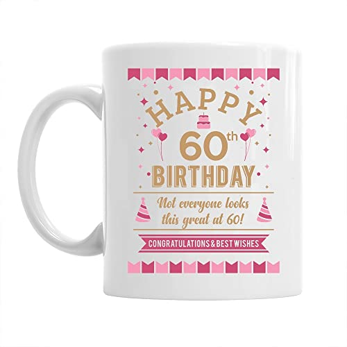 60th Birthday Gift Idea For Women Still Looking Good At 60 Keepsake Coffee Mug