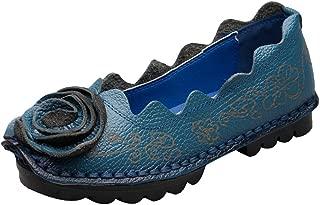 Women's Fall New Flat Flower Pattern Shoes
