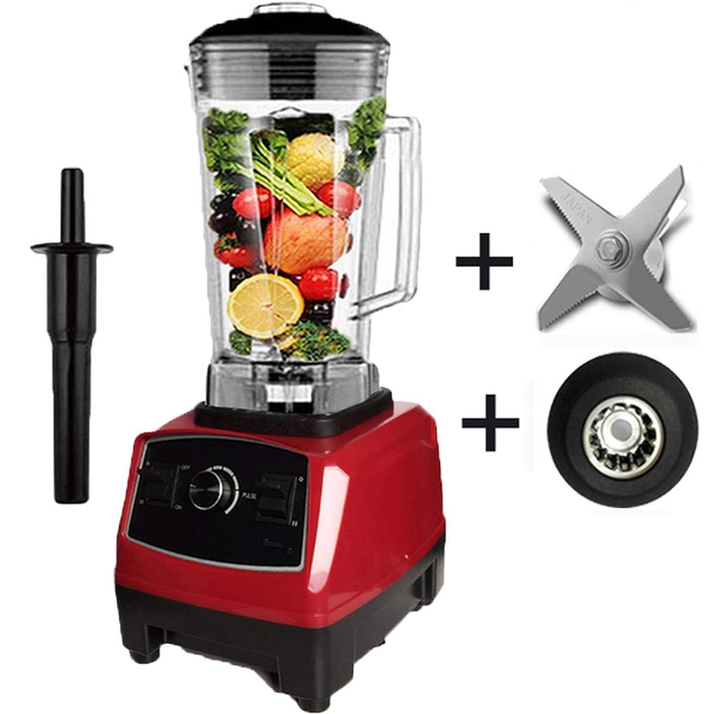 Heavy Duty Blender Professional Blender Mixer Food Processor Japan Blade Juicer Ice Smoothie Machine,Red blade drive,AU Plug