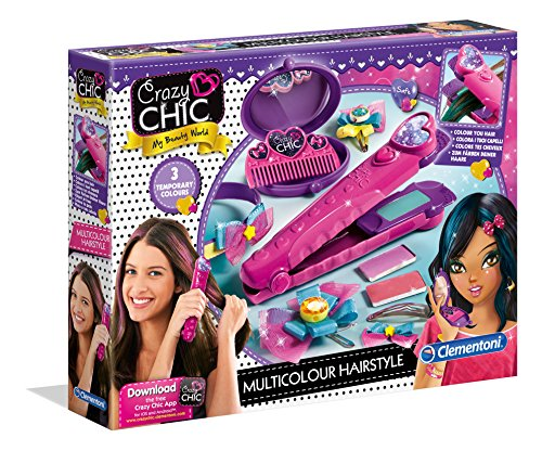 Crazy Chic - Juguete Decora tu cabello Clementoni