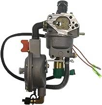 Cancanle Auto Choke Carburetor for Honda GX390 188F 190F LPG/CNG/Gasoline Motor Engine