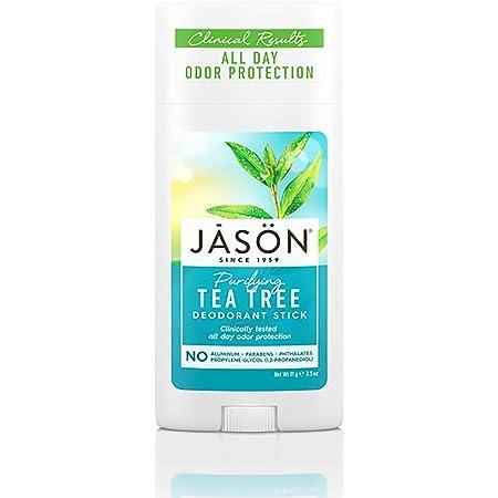 Jason Aluminum Free Deodorant Stick, Purifying Tea Tree, 2.5 Oz (Pack of 3)