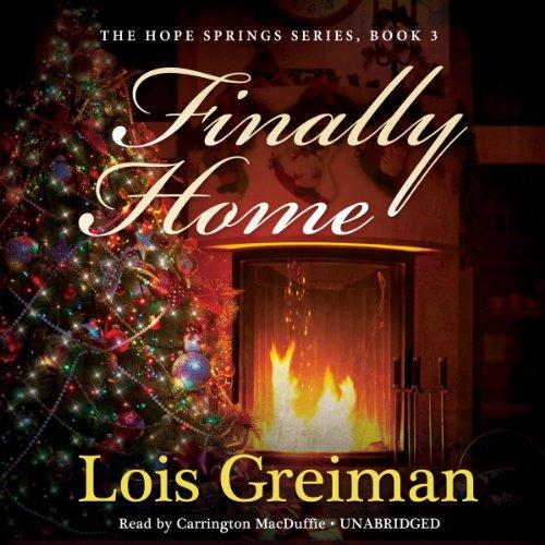Finally Home audiobook cover art