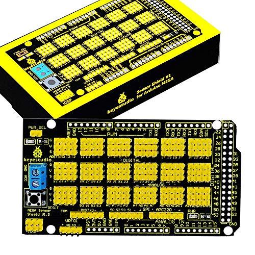 KEYESTUDIO Mega Sensor Shield Scheda di espansione per Arduino Mega2560 Kit