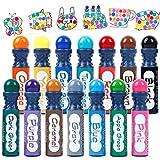 14 Colors Dot Markers,Shuttle Art Highly Washable Bingo Daubers Dabbers Dauber Dawgs