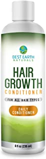 Hair Growth Conditioner with DHT Blockers for Healthy Hair Growth, Hair Loss, Slow Growing and Thinning Hair for Men and Women 8 Ounces
