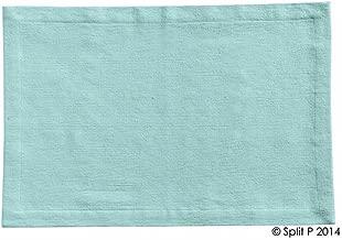 Split P Table Linens, Set of 4 Essentials Place Mats, Spa Blue