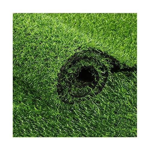 YNFNGXU Fake Hierba Alfombra Caja Fuerte para Mascotas, Hierba Artificial para Perros, Balcón, Alfombra Suave Fácil De Limpiar con Agujeros De Drenaje Verde(Size:20mm Grass height-2mx4m)