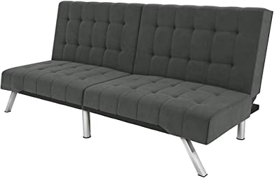 Admirable Amazon Com Abbyson Jackson Leather Foldable Sleeper Sofa In Onthecornerstone Fun Painted Chair Ideas Images Onthecornerstoneorg