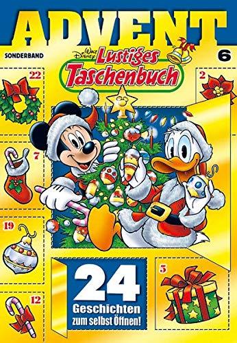 Lustiges Taschenbuch Advent 06: Sonderband: Sonderband. 24 Geschichten zum selbst Öffnen!