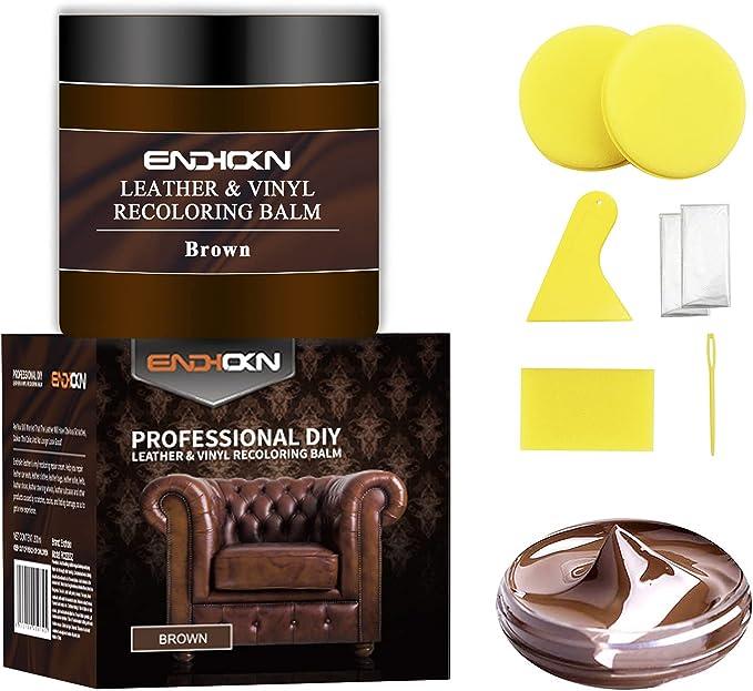 92 opinioni per Endhokn 200ml Pelle Marrone Kit di Riparazione di Colori in Vinile- Sedili Auto,